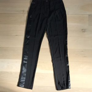 Barely worn, women's stylish black trousers